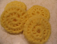 Crocheted Nylon Scrubbies (Dish Washing Scrubber)