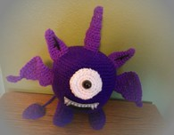 One eyed one horned flying purple people eater