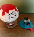 Cupcake and Muffin Top Amigurumi