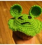 Mau5cake Cupcake Amigurumi inspired by Deadmau5
