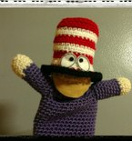 Mr. Hat of Southpark (Actual Puppet and Amigurumi)