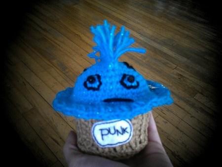 Punk Cupcake Amigurumi