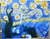 Starry Night Interpretation