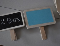 Chalkboard Clothespin Labels