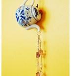 Teapot Suncatcher Wind Chimes