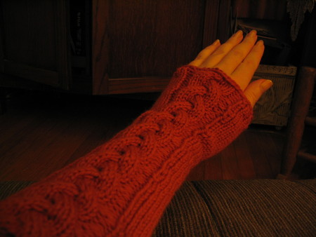Extra-Long Wrist Warmers