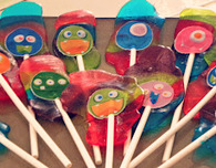 Jolly Rancher Monster Lollipops