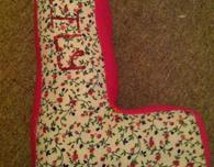 Letter Cushion with Embroidered Name