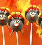 Thanksgiving Turkey Cake Pops