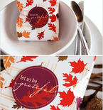 Thanksgiving Place Favors