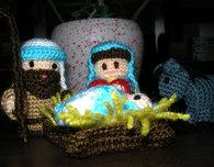 Amigurumi Nativity Scene