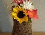 Autumn Gourds from Recycled Sweaters