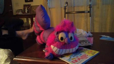 Cheshire Cat Doll from Alice in Wonderland