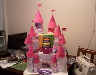 Diaper Castle (Baby Shower Gift)
