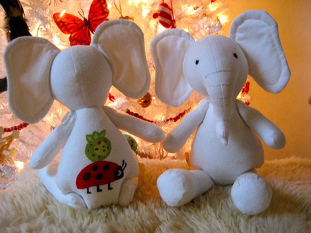 Sweet Little Elephant Softies