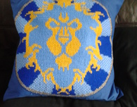 World of Warcraft Alliance Cushion