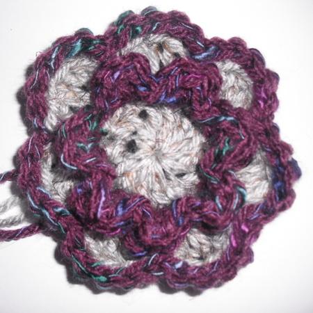 Flower Squared (Crochet Flower)