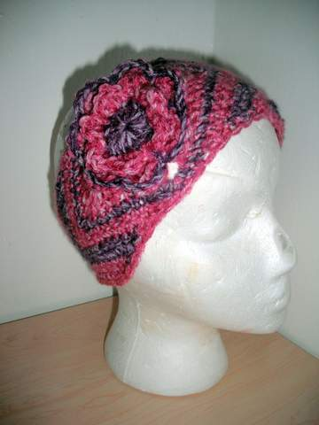Julianna Ear Warmers (Crochet Project)