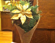 Wedding Pew Cone with Tutorial