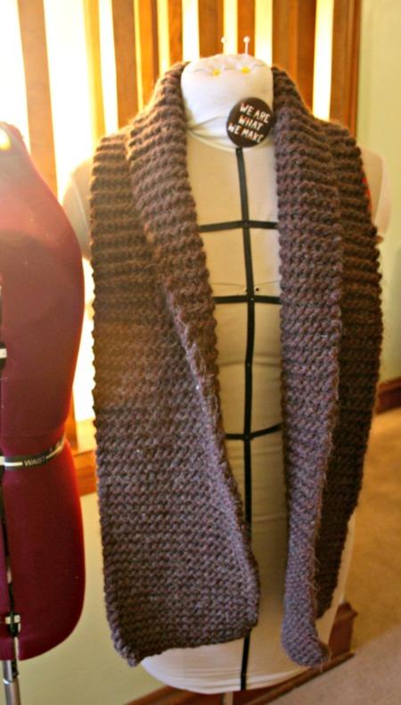 Fashion Scarf (Knitting Project)