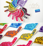 Foam Finger Birthday Printables