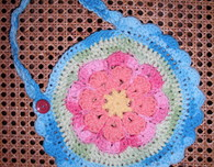 Flower Bib (Crochet Pattern)