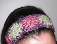 Dotted Headband (Free Crochet Pattern)