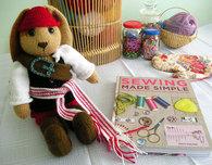 The Yarn Loving Pirate Knit Doll