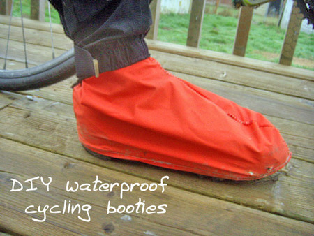 DIY Cycling Booties