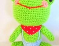 Frog Amigurumi (Free Pattern)