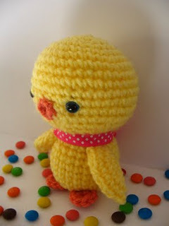 Baby Chicken Amigurumi (Free Pattern)