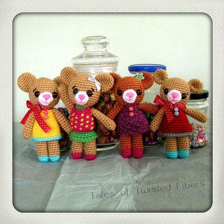 Amigurumi Teddy Bears