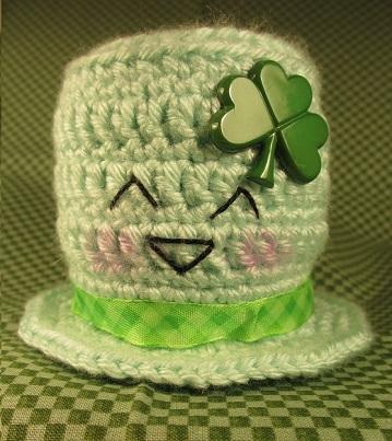Happy St. Patrick's Day Hat (Free Crochet Pattern)