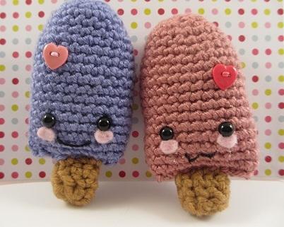 Valentine's Day Popsicle Amigurumi (Free Crochet Pattern)