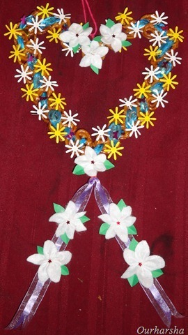 Pretzels Heart Wreath — Pretzels Crafts