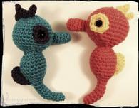 Amigurumi Crochet Seahorses (Free Crochet Pattern)
