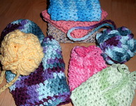 Spa Set (Free Crochet Patterns)