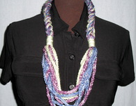 Chain Necklace (Free Crochet Pattern)
