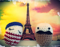 Ooh La La Easter Eggs (Free Crochet Pattern)