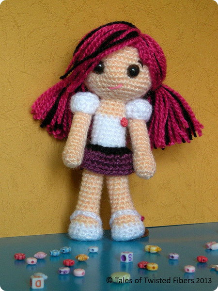 Amy Doll - Free Pattern