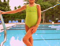Girl's Swimsuit Pattern and Tutorial — A Big Splash!