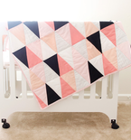 Triangle Quilt Tutorial and Pattern