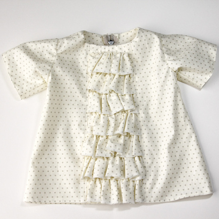 Ruffled Baby Dress