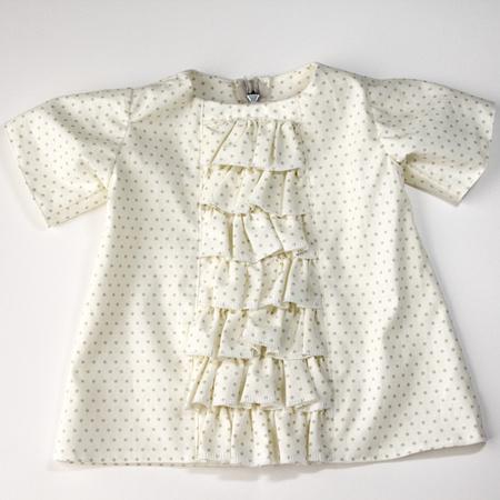 Ruffled Baby Dress