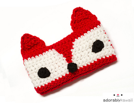 Red Fox Phone Cozy Crochet Pattern