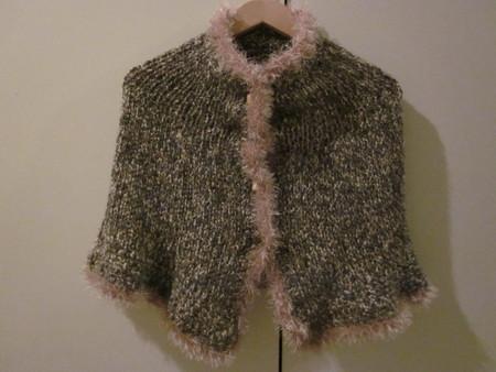 Knit-Crochet Capelet