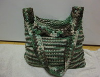 Knit-Crochet Tote Bag