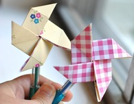 Pinwheel Party Favors