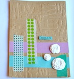 Handmade Card and Envelope with Stampin' Up