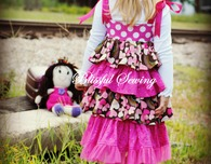 Bella Ruffled Dress Sewing Pattern